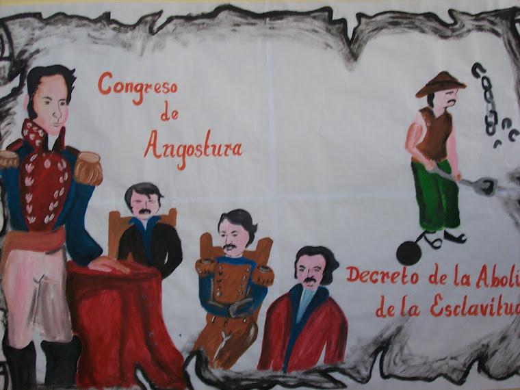 """ACTO CÍVICO """"DISCURSO DE ANGOSTURA"""""""