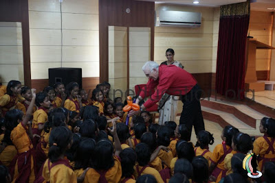 Magic show at JKP Education primary school