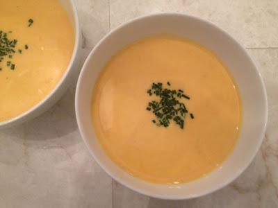Ginger-Carrot Vichyssoise Recipe