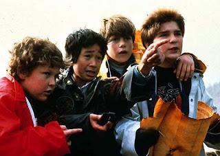 """Cena do Filme """"Os Goonies"""", de 1985"""