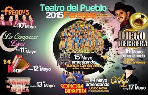 bailes feria enrique estrada zacatecas 2015