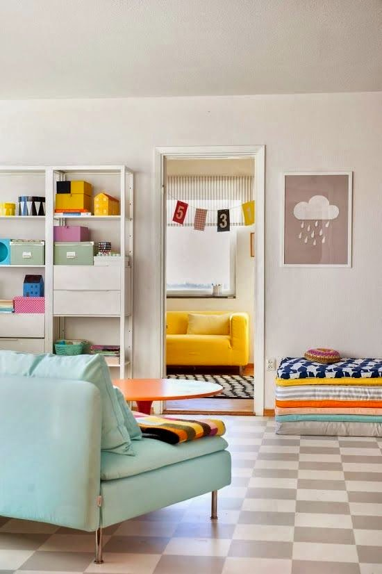 10 salas modernas irresistibles para inspirarse for Colores para salas pequenas modernas