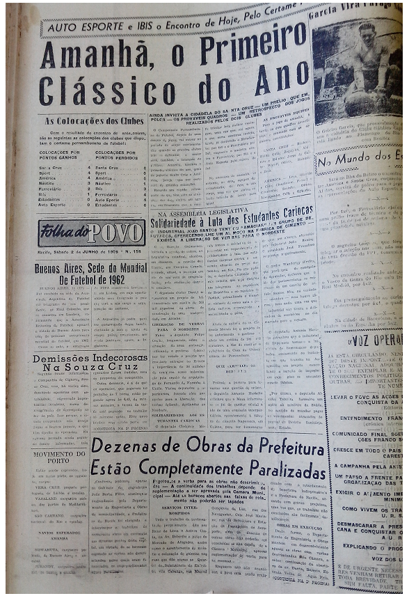 MEMÓRIAS ESMERALDINAS: América 6x3 Santa Cruz em junho de 1956
