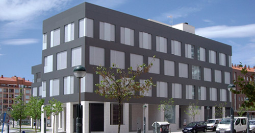 Arquitecto tecnico navarra nuevo edificio en vitoria - Arquitectos navarra ...