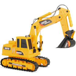 Mega Machines Wire Controlled Super Toy Excavator