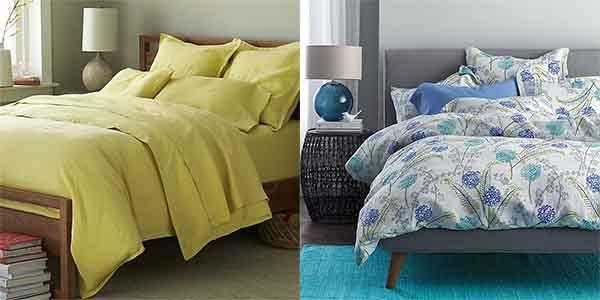 interiorsjacquin: bold & bright linen bedding