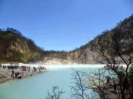 Obyek Wisata Kawah Putih Ciwidey Bandung
