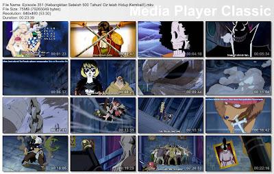Download Film One Piece Episode 351 (Kebangkitan Setelah 500 Tahun! Oz telah Hidup Kembali!) Bahasa Indonesia