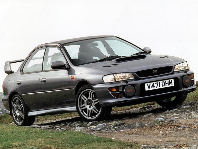 Subaru Impreza I, 1st, 1-gen, zdjęcia, japoński sportowy samochód, kultowy, 日本車, スポーツカー, スバル, edition version RB5