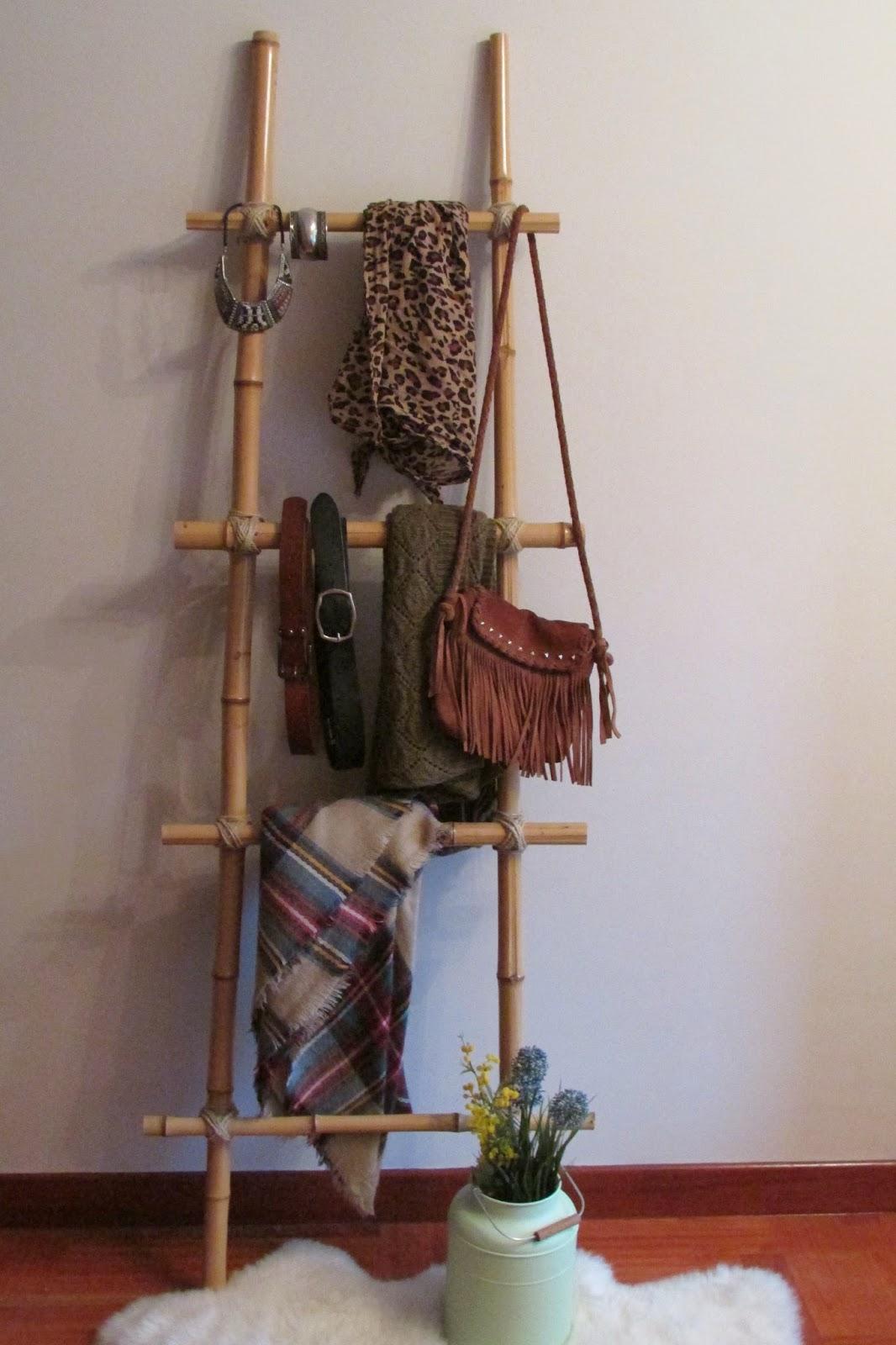Neutradecor diy escalera de bamb - Escaleras de bambu ...