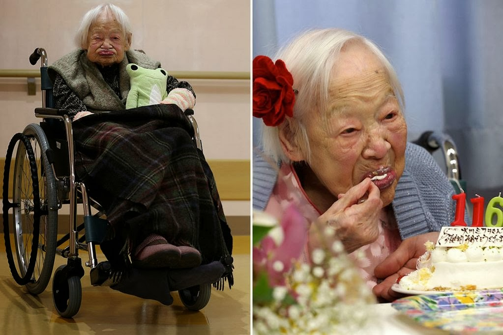 Selamat Ulang Tahun Misao Okawa, Manusia Tertua Di Dunia Berusia 116 Tahun