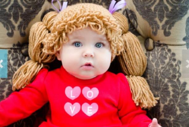 Безумно милая шапочка для малыша своими руками. Невозможно сдержать улыбку! Детские шапочки