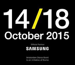 ADE 2015: 14/18 October