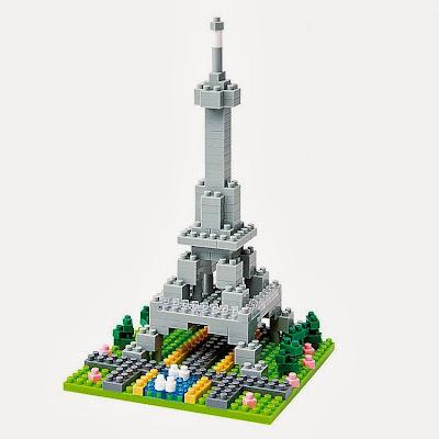 Torre Eiffel Juego de Construcción