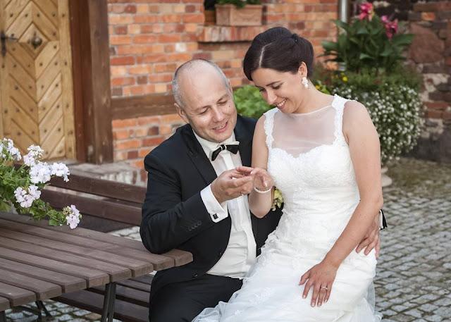 """Soutache ślubny ivory z perłami, komplet """"Lady Stuart"""""""