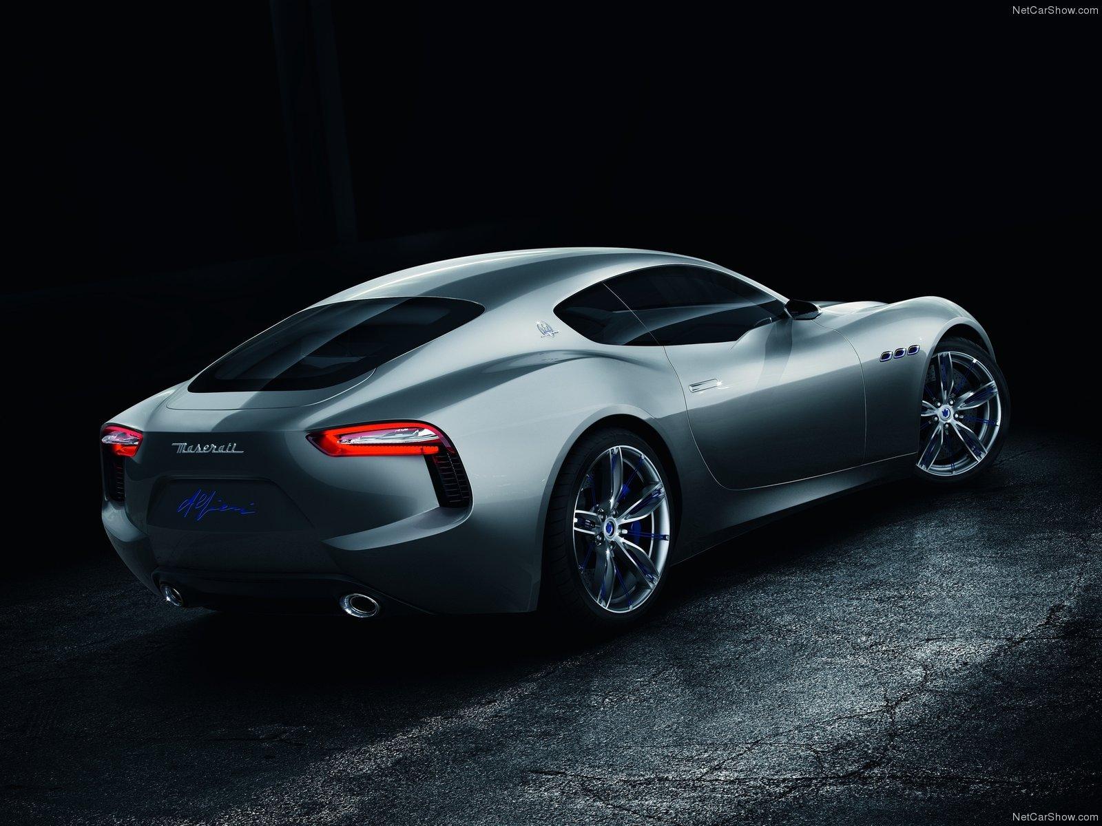 Hình ảnh siêu xe Maserati Alfieri Concept 2014 & nội ngoại thất