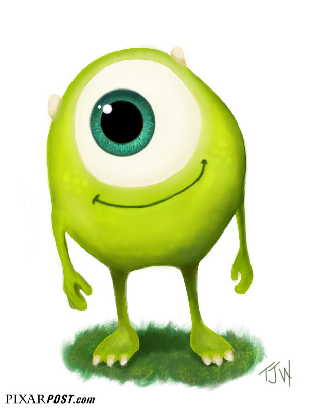 Mike Wazowski Drawing Young Mike Wazowski Fan Art