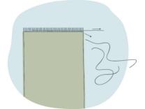 Cara Membuat Bantal Stensil 1
