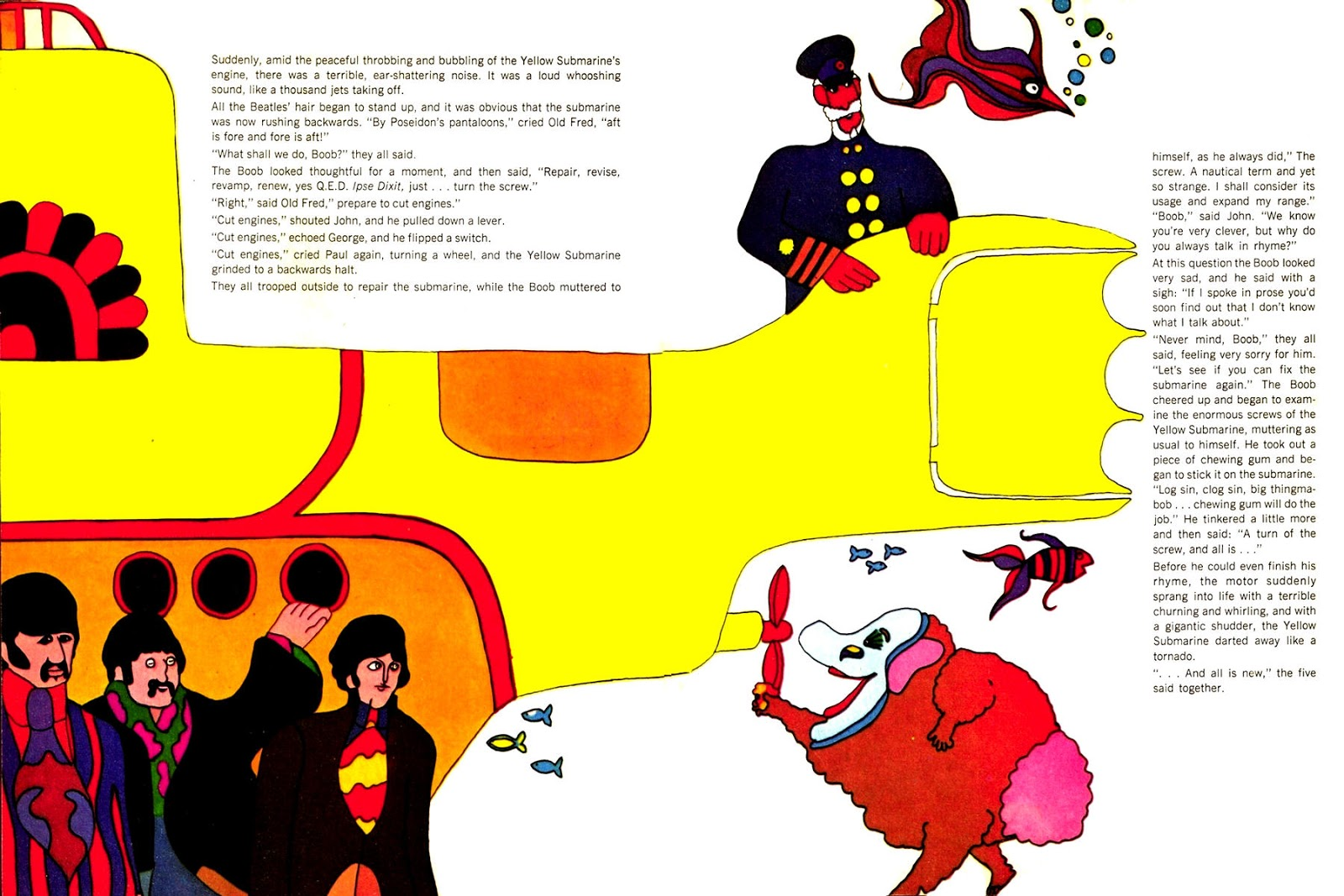 yellow submarine Rotten: 2 critics consensus: a joyful, phantasmagoric blend of colorful  animation and the music of the beatles, yellow submarine is delightful (and  occasionally.