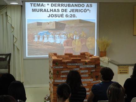 TEMA: DERRUBANDO AS MURALHAS DE JERICÓ