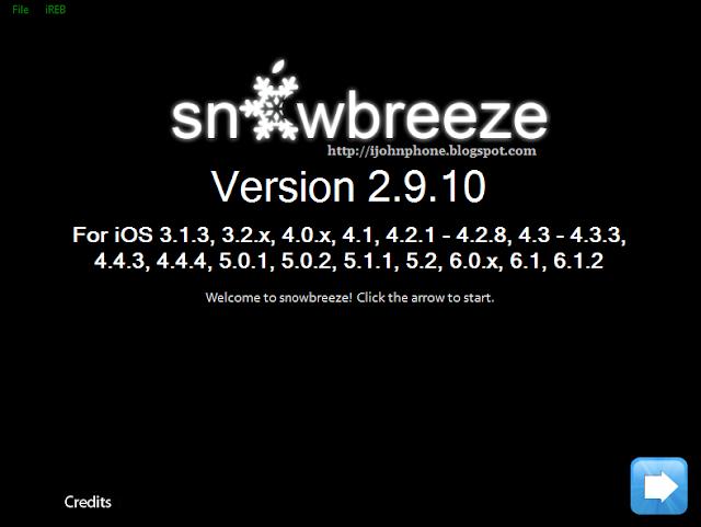 iH8sn0w acabó de actualizar Sn0wbreeze