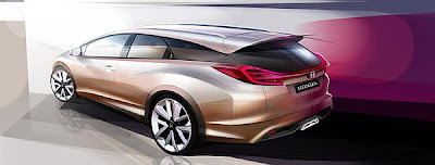 "Honda plans ""Civic Wagon Concept"""