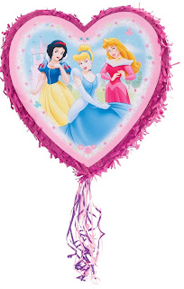 Disney-Princess-heart-shaped-Piñata