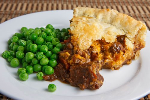 Steak and Guinness Pie by Closet Cooking.