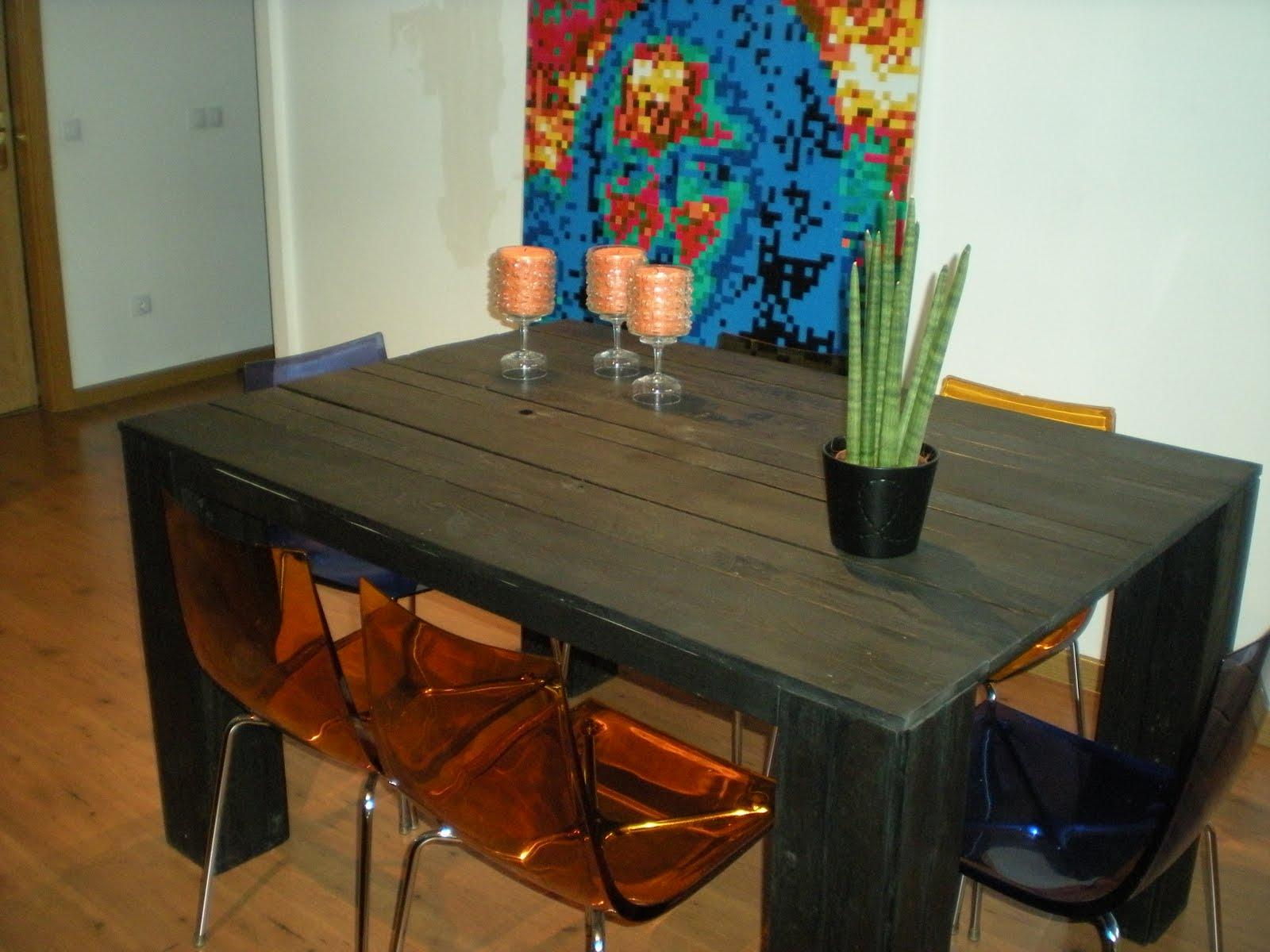 Mesa de madera reciclada - Muebles madera reciclada ...