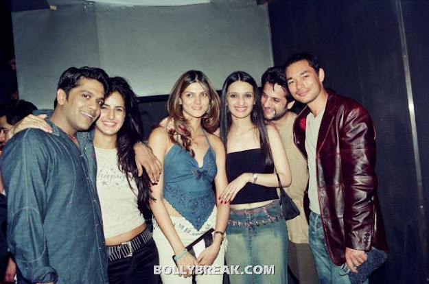 Katrina Kaif at JW Marriot party with fardeen khan - (7) - Katrina Kaif Unseen Private Party Pics from 2004