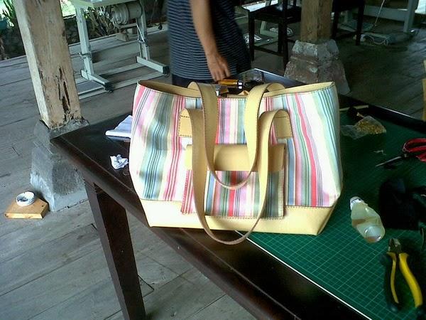 kursus membuat tas tote bag