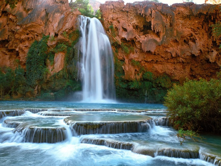 helicopter havasu falls with The Gorgeous Havasu Falls In Arizona on Places To See furthermore Havasupai Lodge besides 5 Best Swimming Spots In The World together with Americas Best Swimming Holes 19 likewise LocationPhotoDirectLink G31371 D126794 I67645974 Havasupai Falls Supai Arizona.