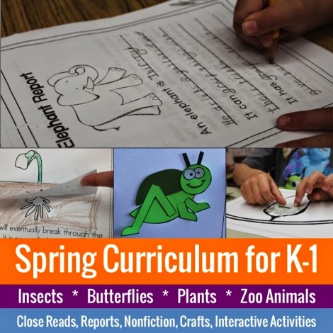 Spring Curriculum for K-1
