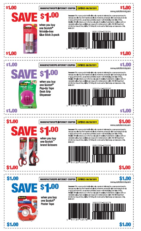 Scotch coupons