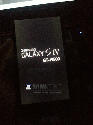 Samsung Galaxy SIV Leaked Image