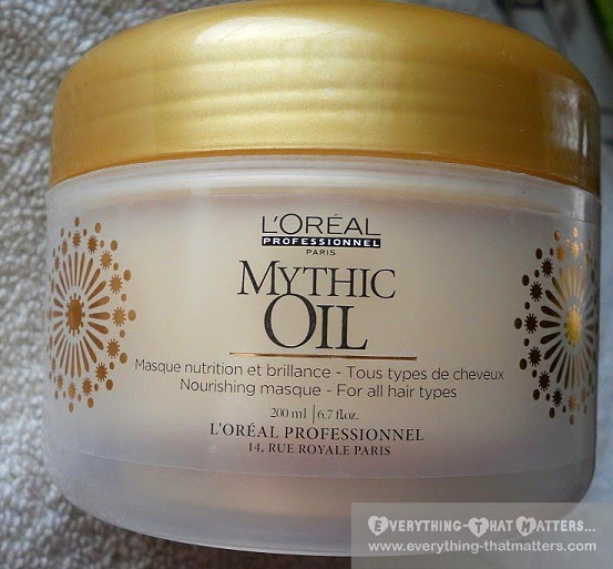 L'Oreal Professionnel Mythic Oil Hair Masque: Review And Pictures