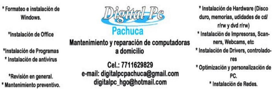 Blog Digital PC Pachuca