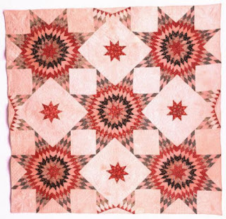 Sunburst Star and Puritan Star Quilt Sarah Kyle