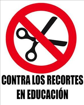 No a los Recortes en Educación.