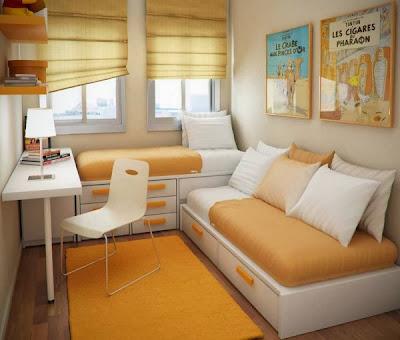 Interior Kamar Tidur 2 Anak