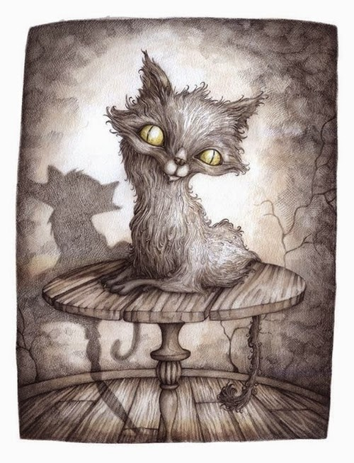 17-The-Nowhere-Cat-Adam-Oehlers-Illustrations-and-Drawings-from-Oehlers-World-www-designstack-co