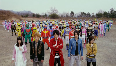 Super Sentai 199 Hero Great Battle!