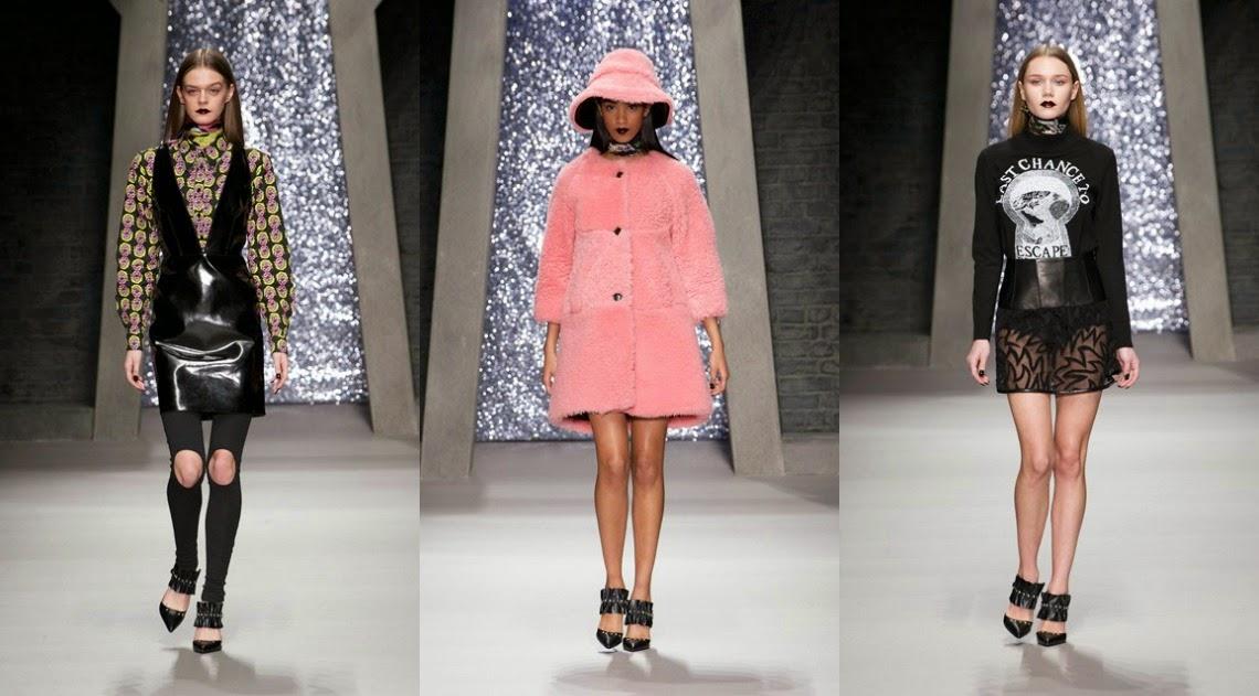 Ashley Williams AW15 London Fashion Week