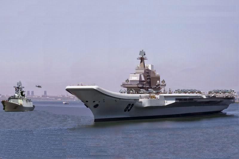 Aircraft Carrier PLAN 83 Shi Lang