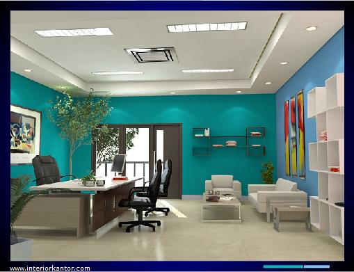 office interior colors. Unique Office Blue Benhur On Modern Office Interior In Office Interior Colors
