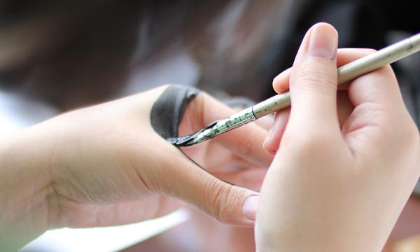 Tien-Min Liao. Handmade Type.