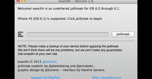 Cara Jailbreak iPhone 5 & Perangkat iOS 6.1 Dengan Evasi0n - Blog ...