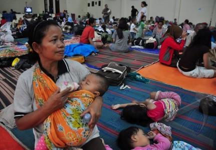 Korban Banjir Masih Bertahan di 90 Lokasi Pengungsian