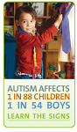 Autism Prevalence Rises to 1 in 88