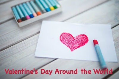 Valentine's Day celebrations around the world for kids